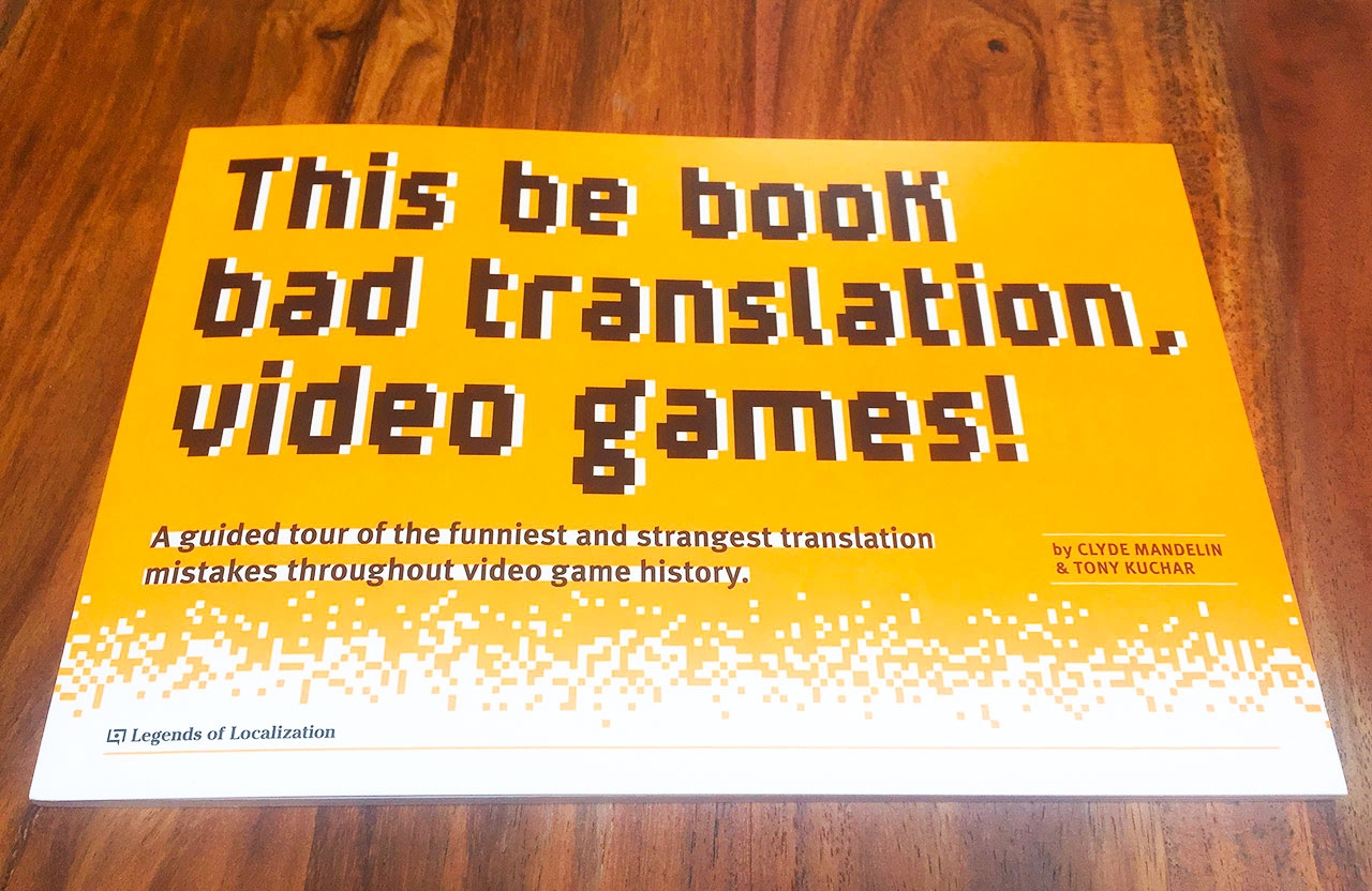 japanese-english video game localization book by fangamer