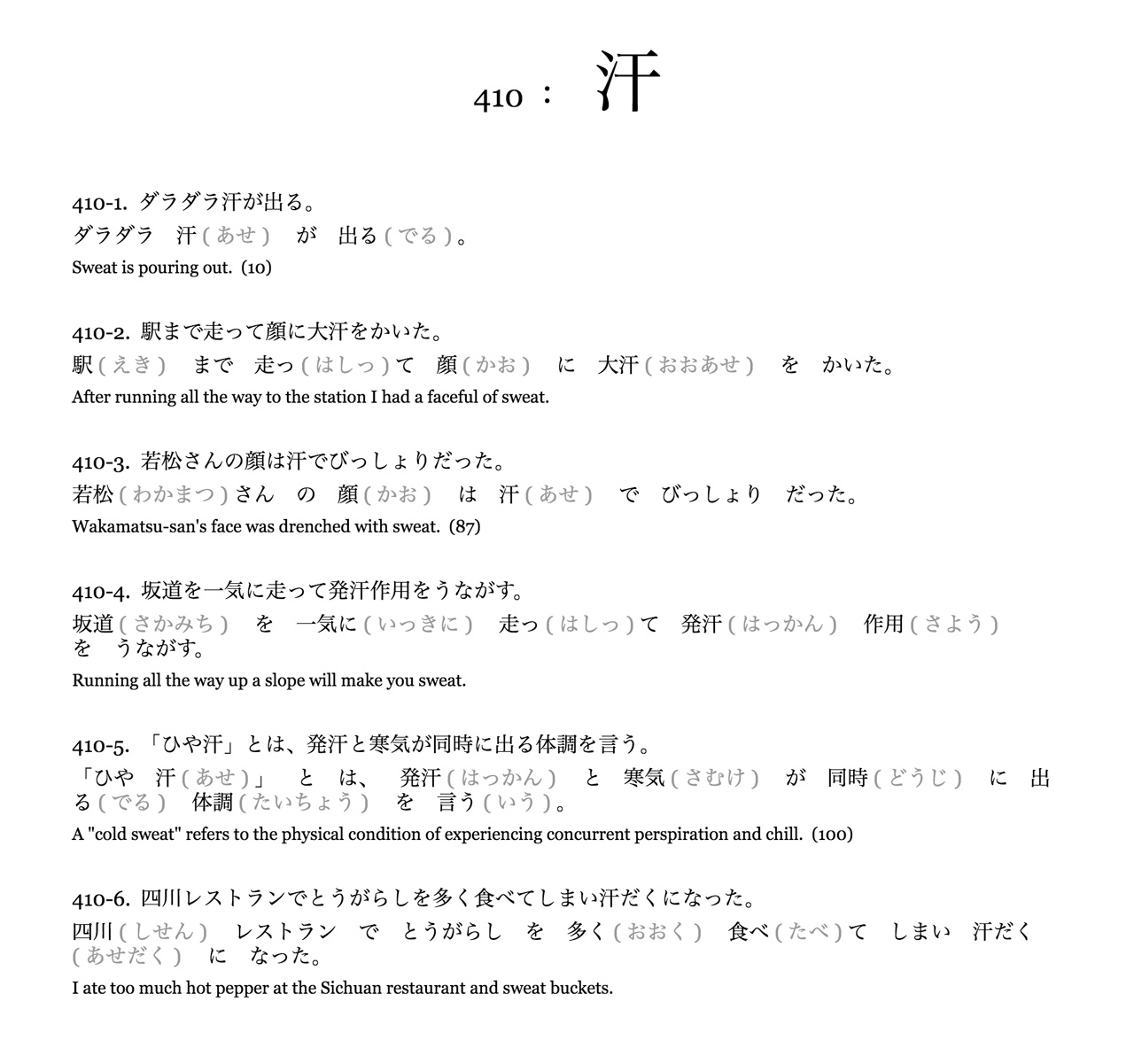 japanese learning book explaining kanji