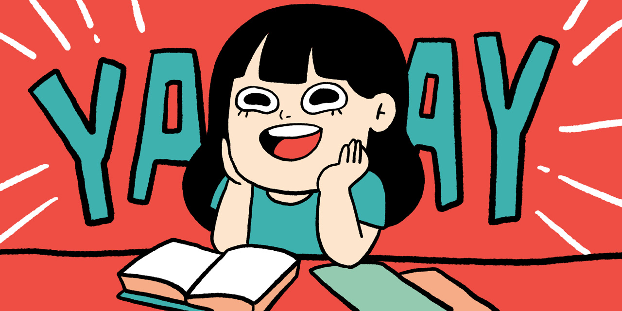 happy japanese student