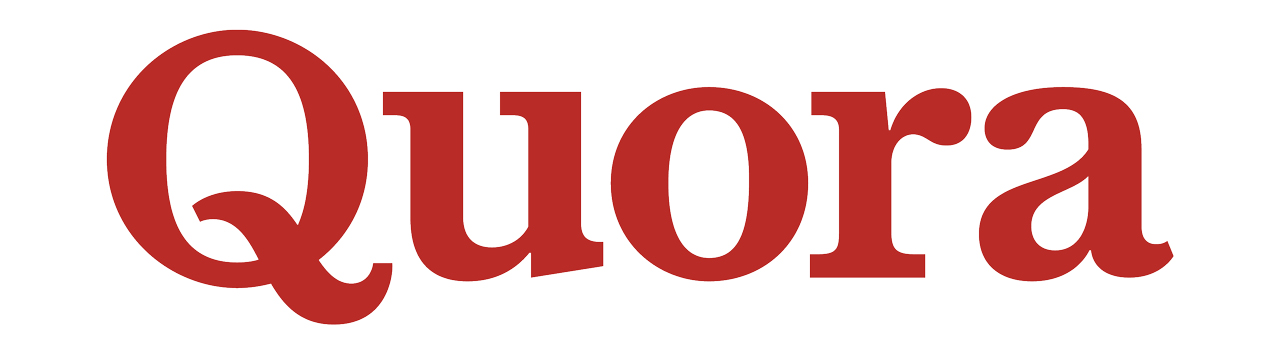 logo for quora q and a site
