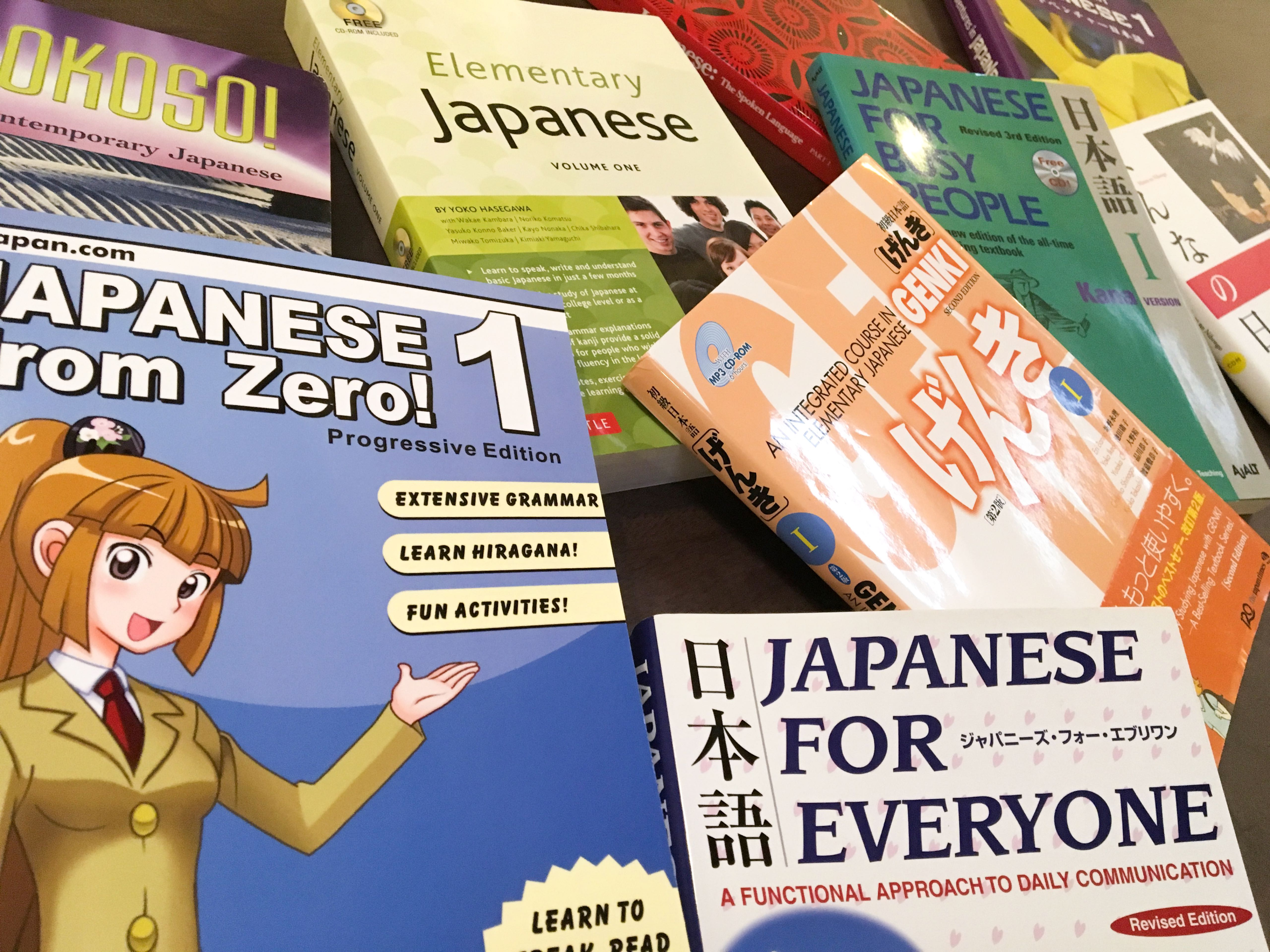 Choosing the Best Beginner Japanese Textbook For You