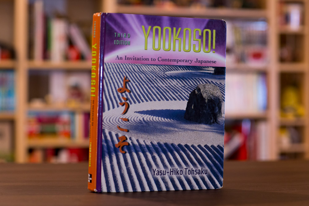 yookoso japanese textbook