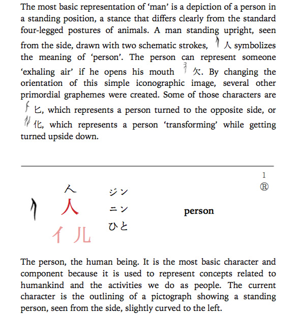 excerpt from world of kanji ebook