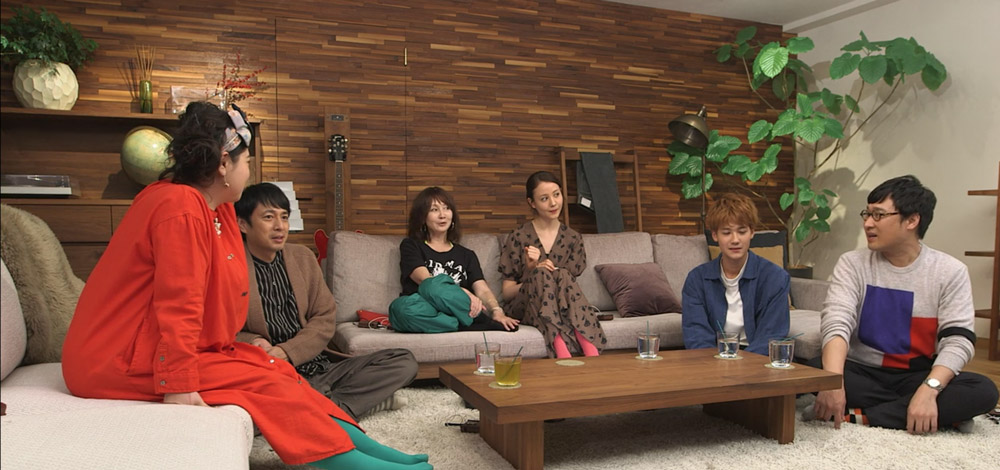 screenshot from netflix terrace house