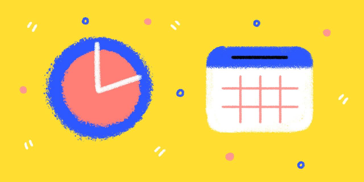 a clock and calendar