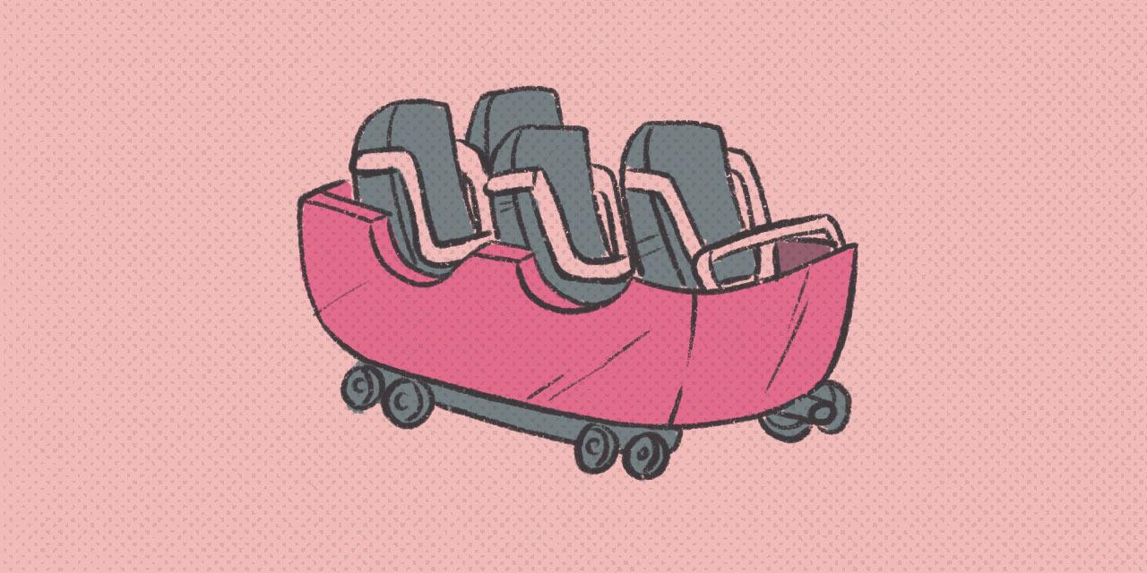 roller coaster car