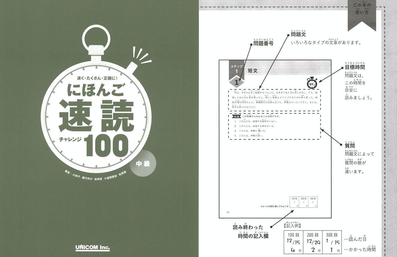 nihongo sokudoku challenge sample