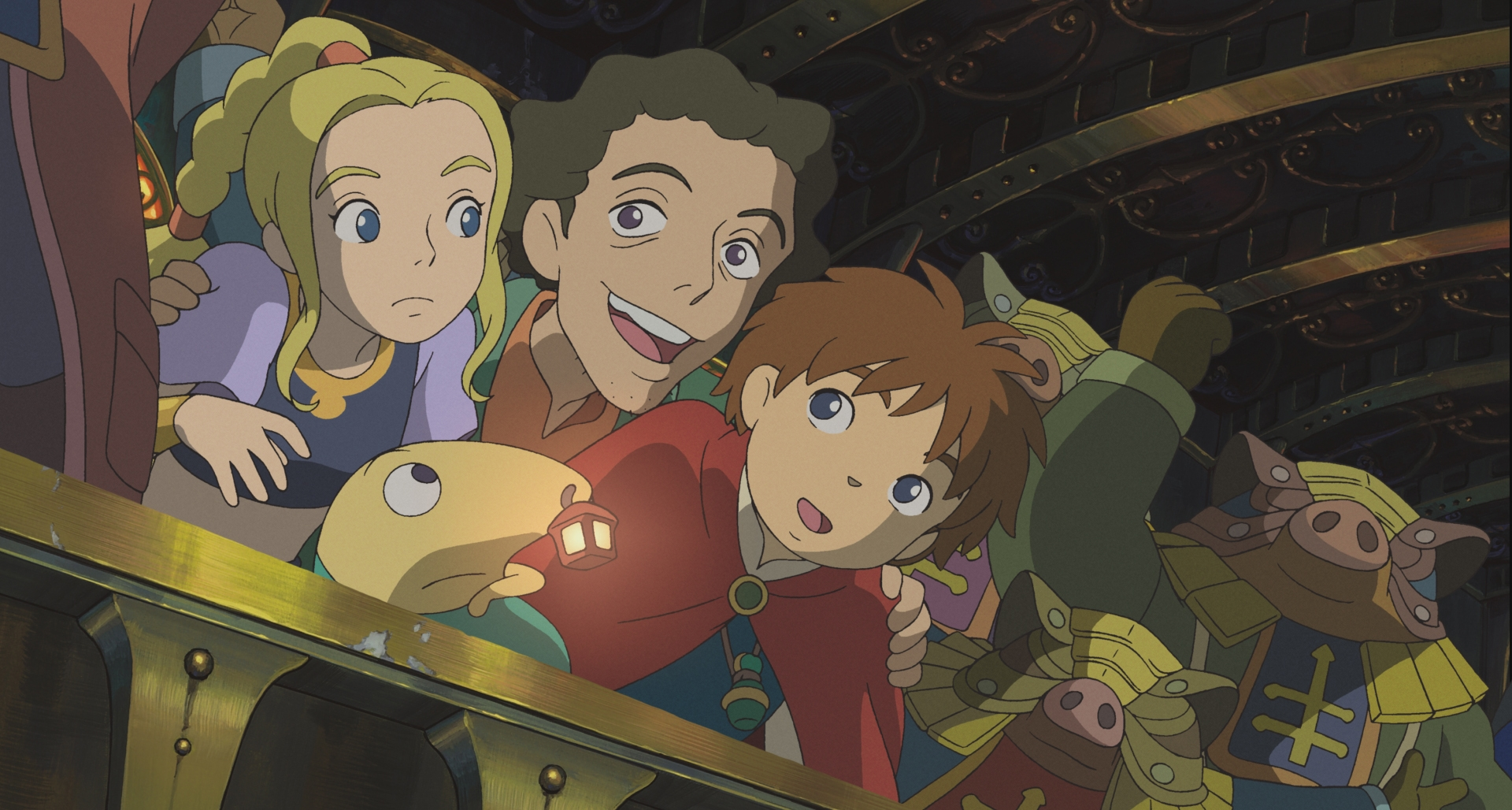 The cast of characters of Ni No Kuni
