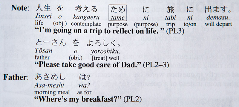 japanese the manga way verb types