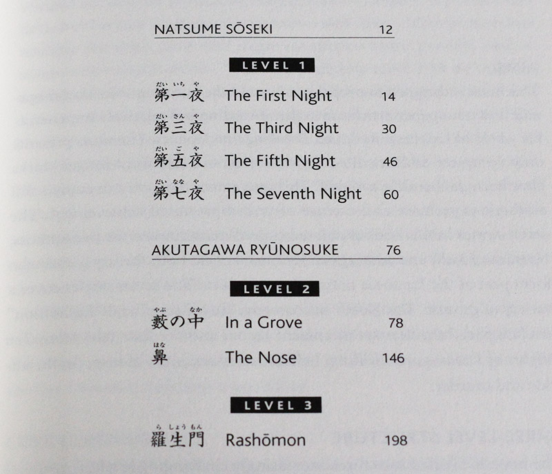 breaking into japanese literature contents