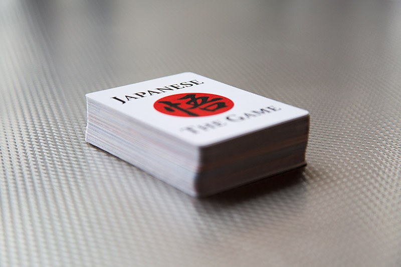 JTG cards in a stack