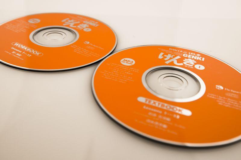 genki audio cds
