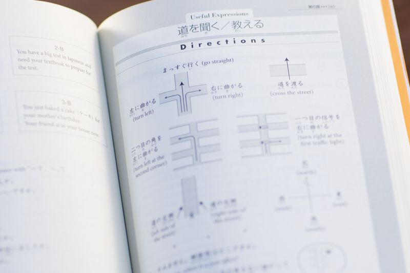 book section on Japanese expressions