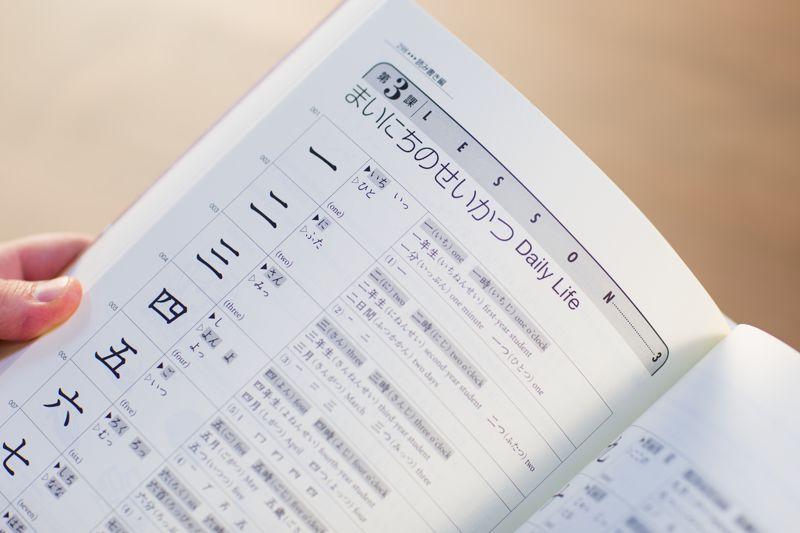 genki book kanji section