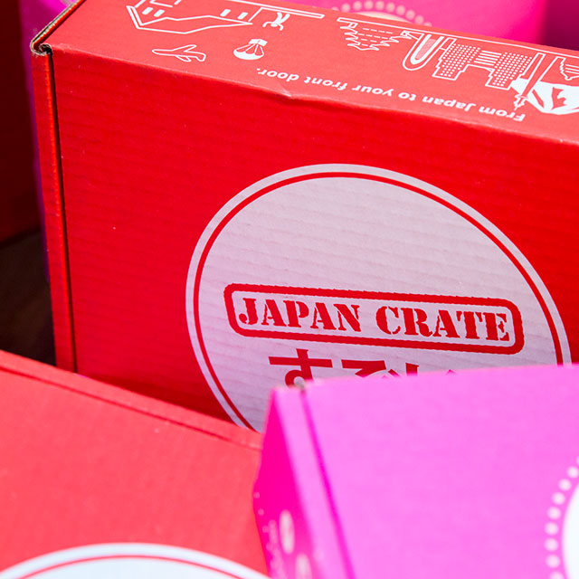 japan crate package up close