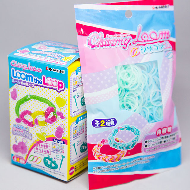 charmy loom set from dokidoki crate