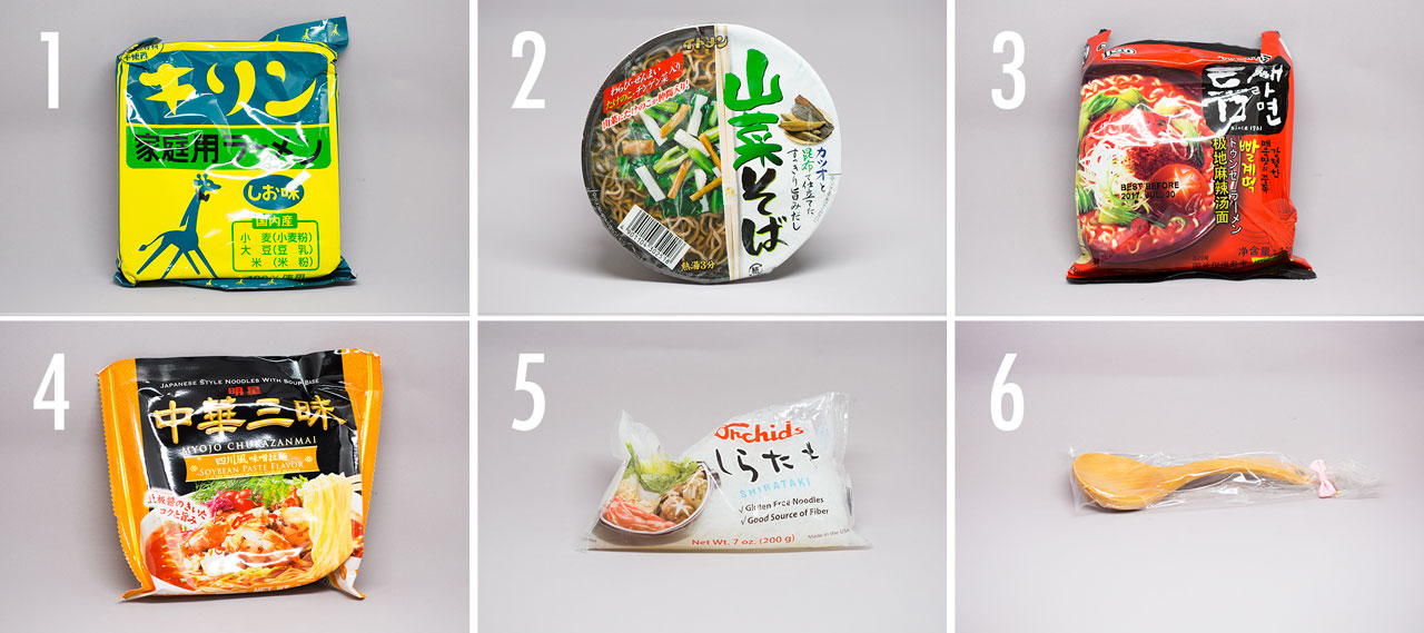 contents of umai crate from japan crate