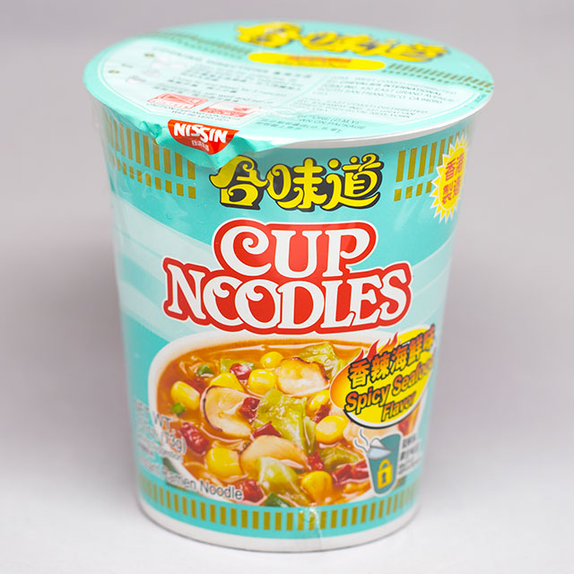 nissin spicy seafood noodles from umai crate subscription service