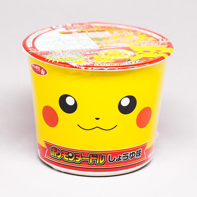 instant ramen that looks like pikachu