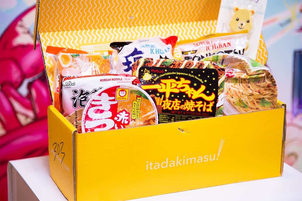 umai crate open displaying contents