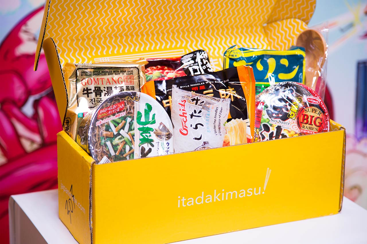 second umai crate box displaying contents