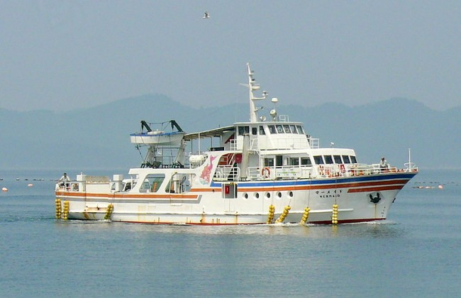 Japanese ferry boat