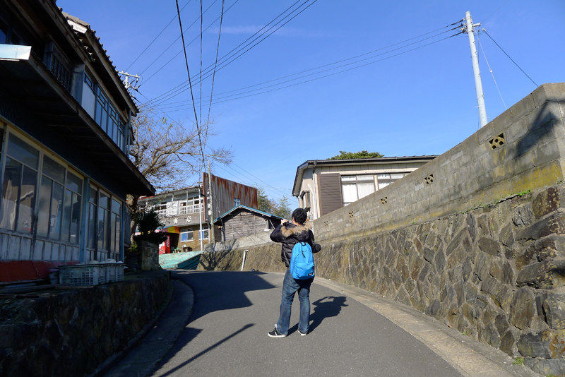 japanese man taking pictures