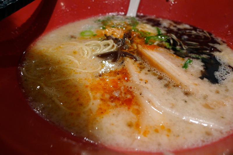 tokyo ramen close up
