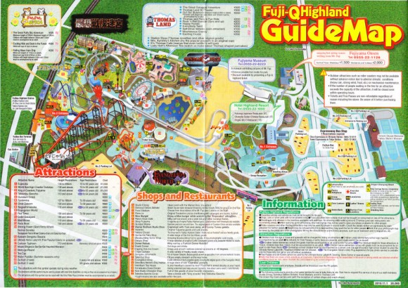 park map of Fufi-Q
