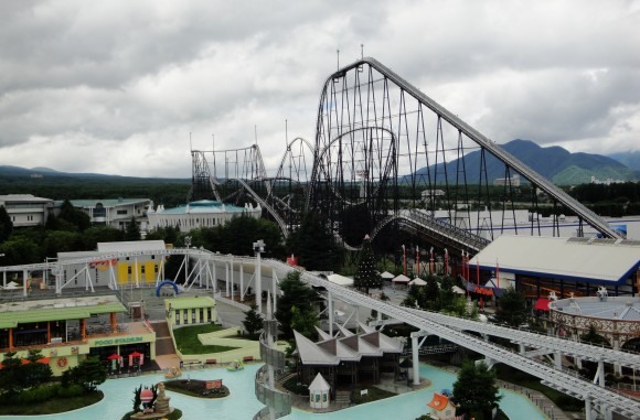 Japan amusement park Fuji-Q