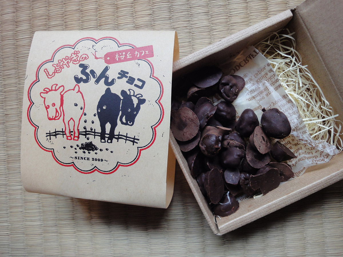 A box of chocolates from Sakuraoka