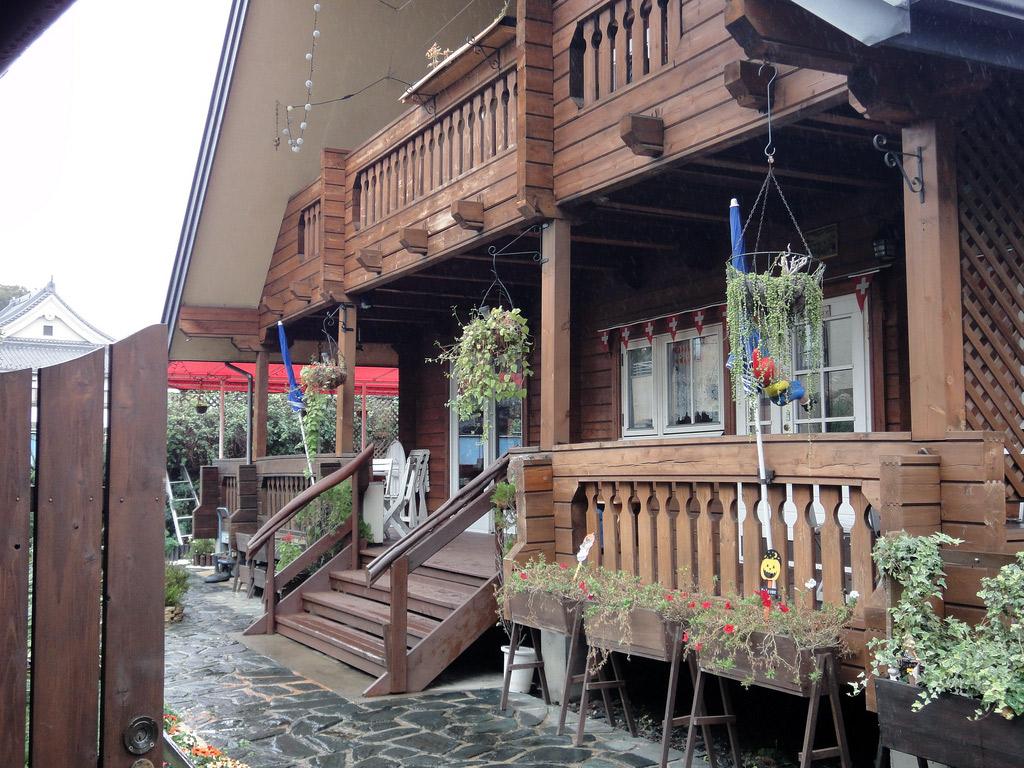 swiss cafe in Japan