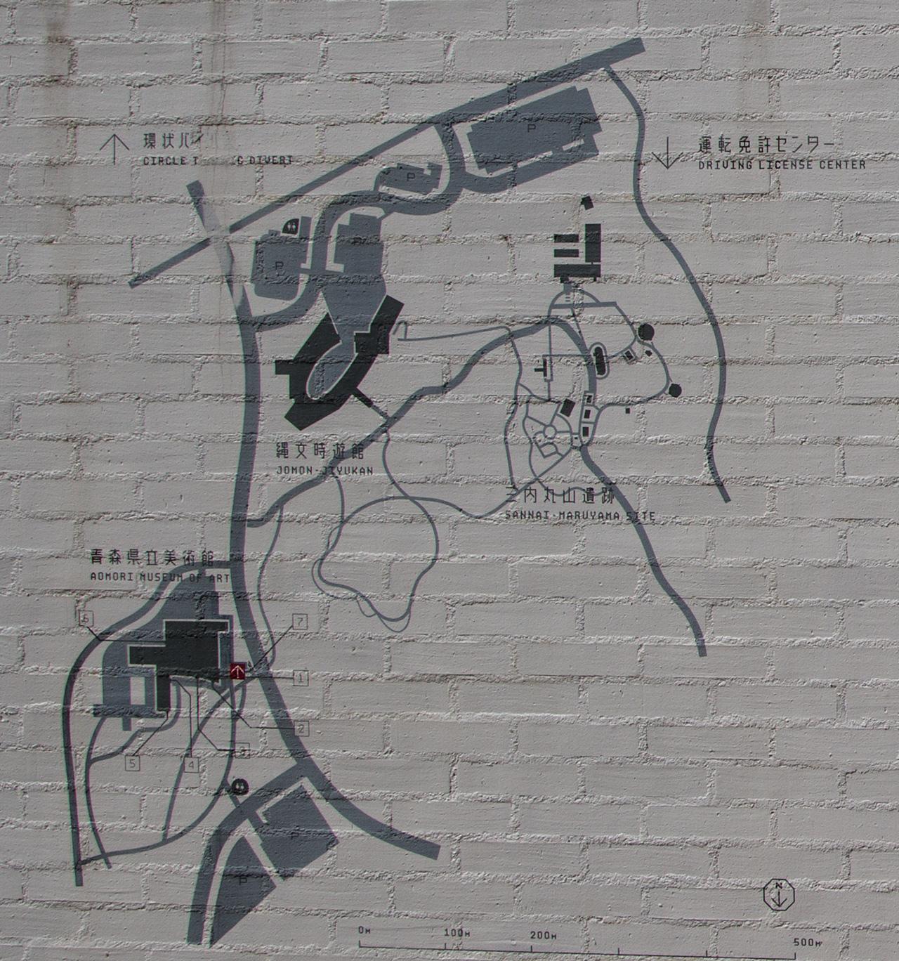 aomori museum map