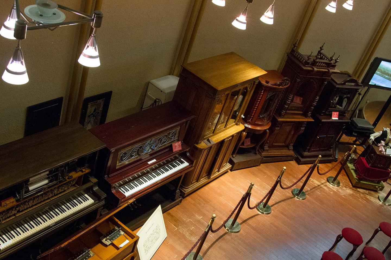 museum pianos