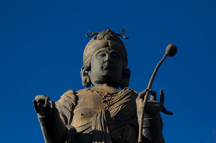 kanzanji temple statue