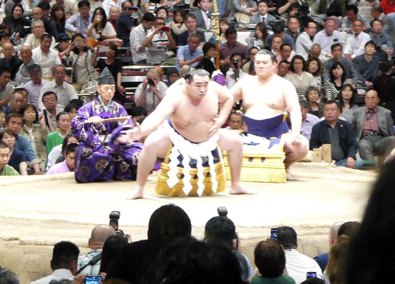 yokozuna match opening ritual