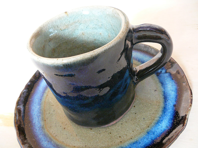 clay mug finished product