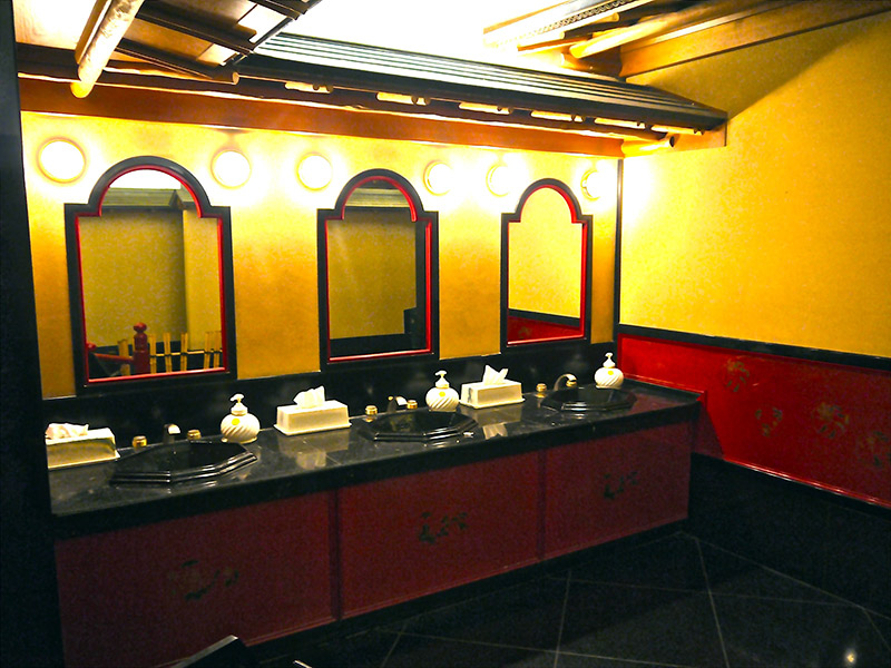 fancy bathroom sinks in Japan