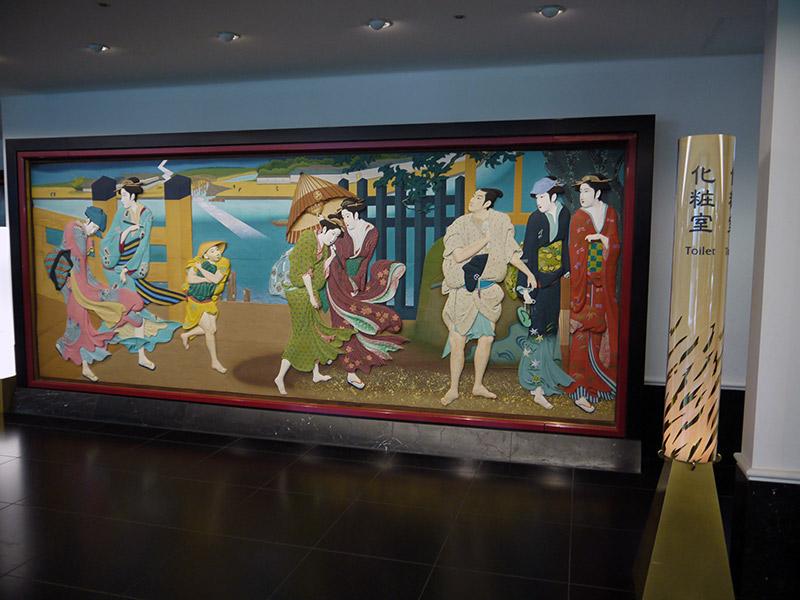 japanese mural