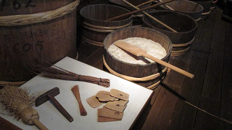 old tools used to make sake
