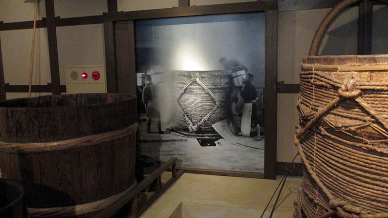 pictures of sake making