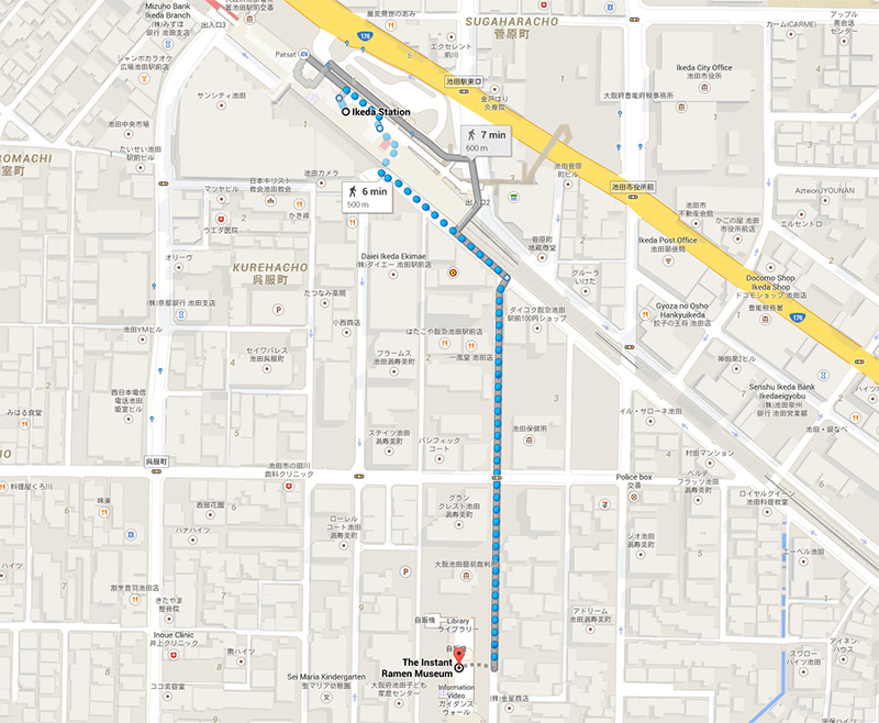 map ikeda station