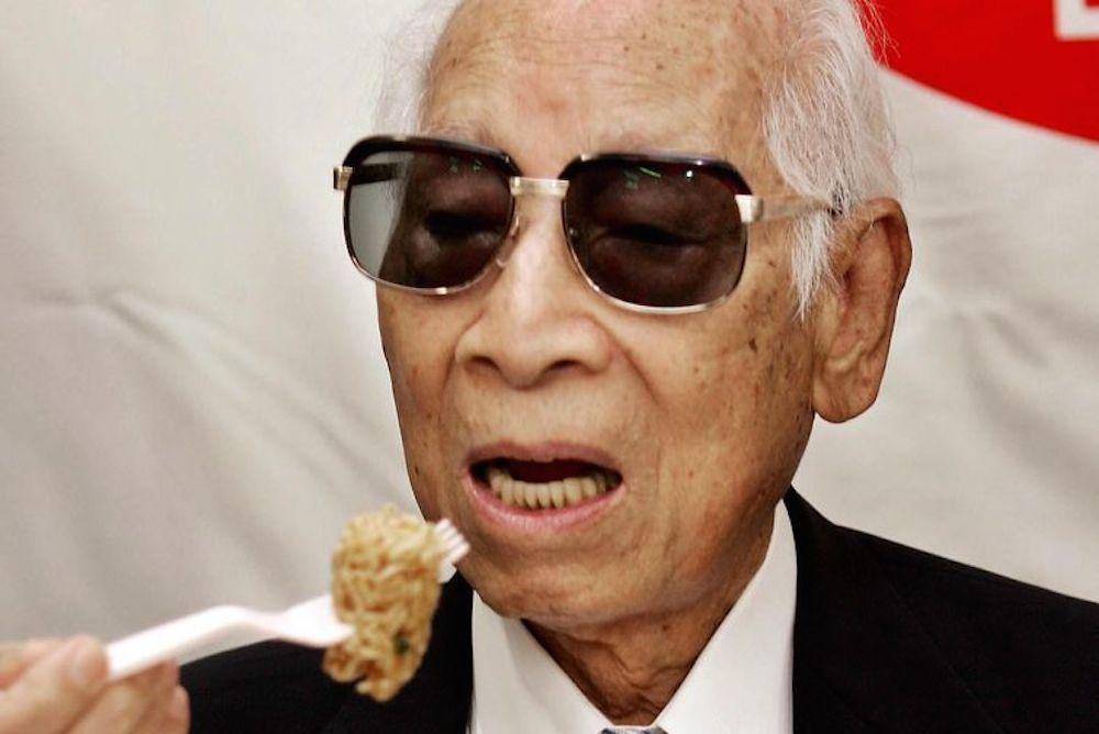 Momofuku Ando creator of instant ramen