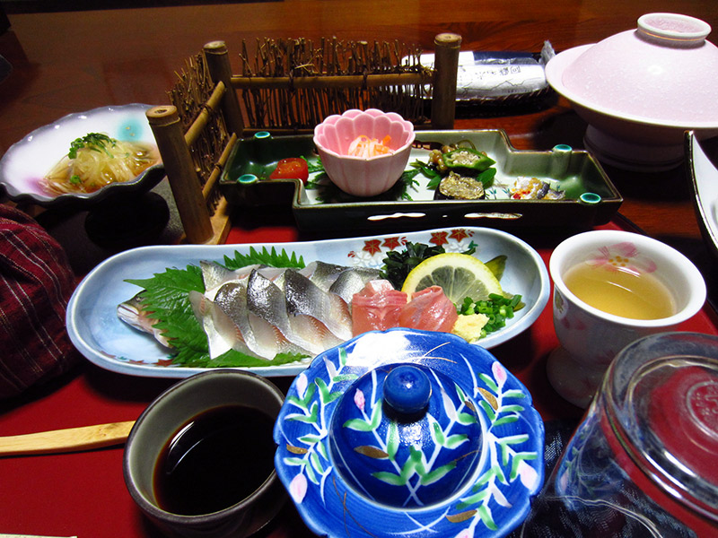 japanese food dinner