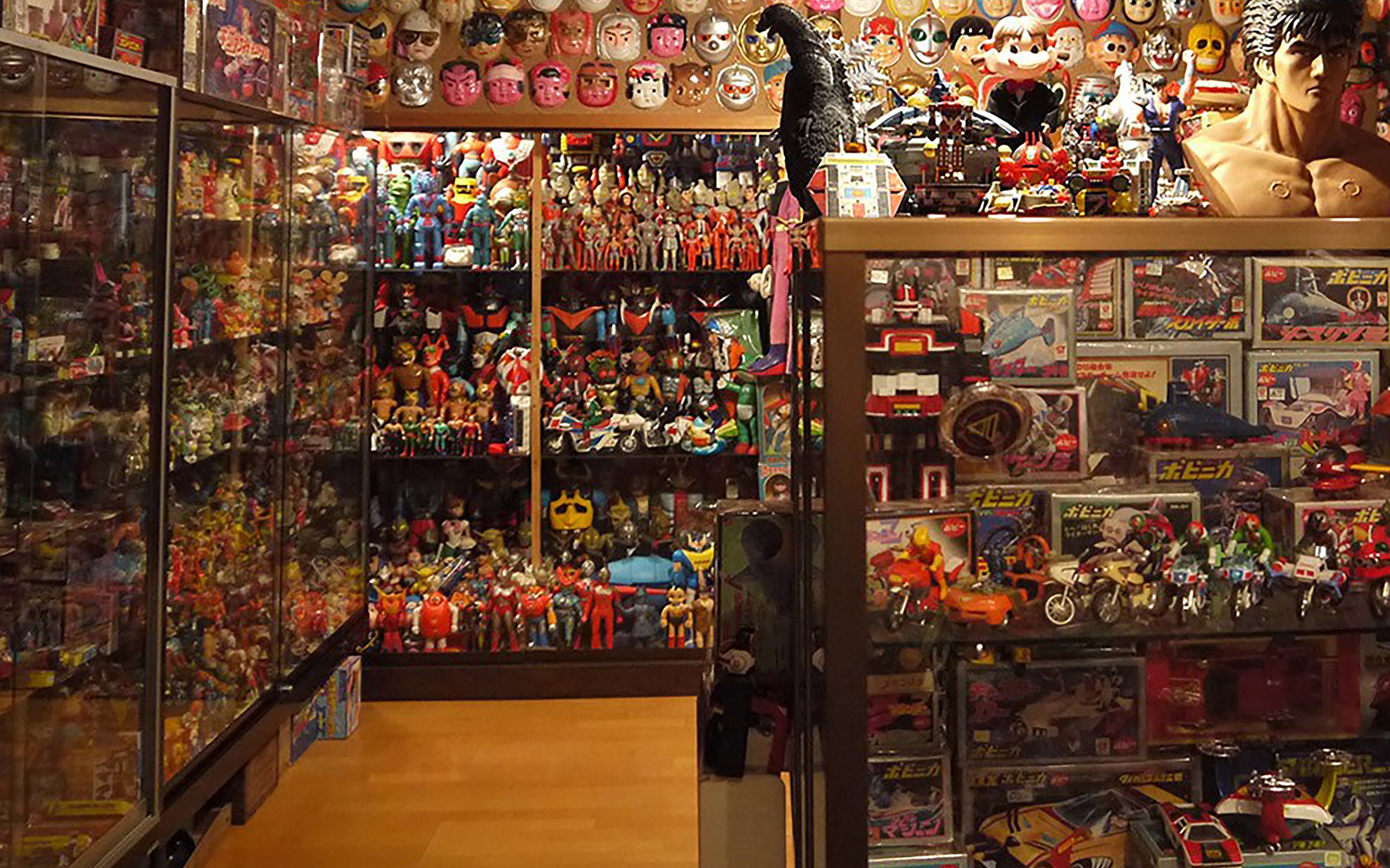 Japan Toy Store : Vintage toy museum in japan aton