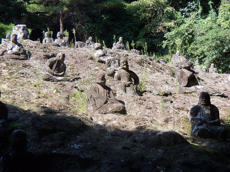 Japan Buddhist statues