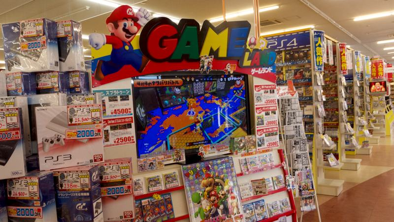 mario kart nintendo used video games display