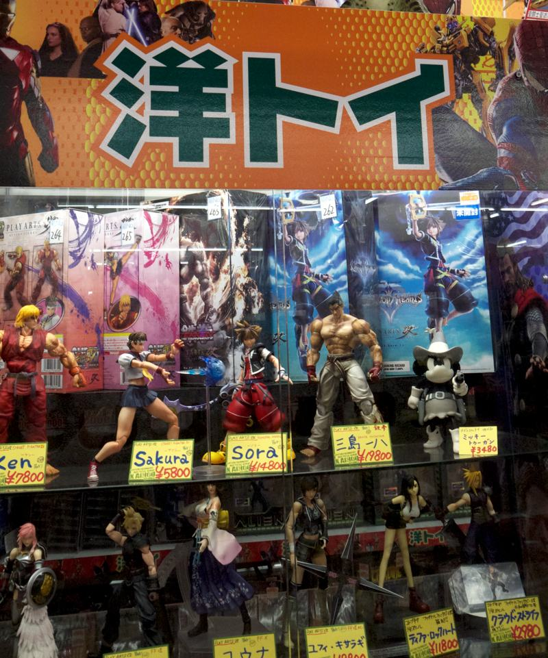 japanese toys manga figurines