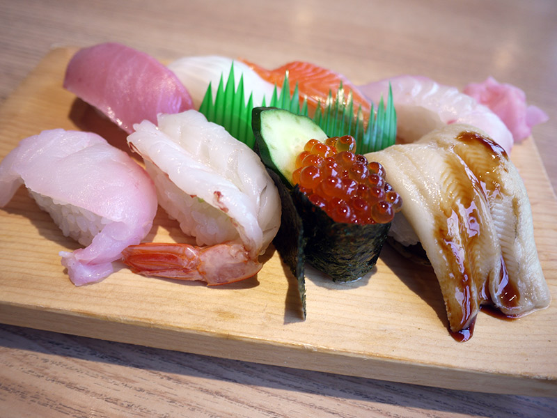 Daiki Suisan Sushi Restaurant Review assortment