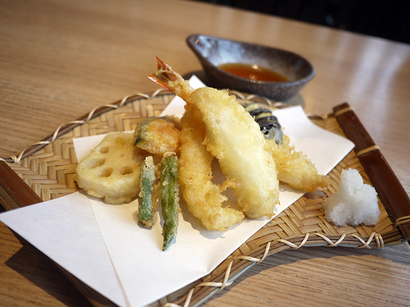 Daiki Suisan Sushi Restaurant Review tempura